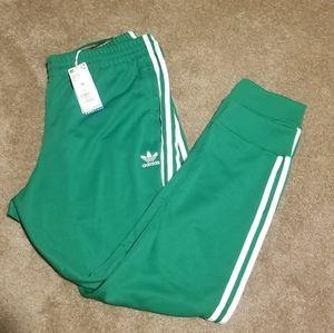Adidas Originals Superstar Track SST Green Pants